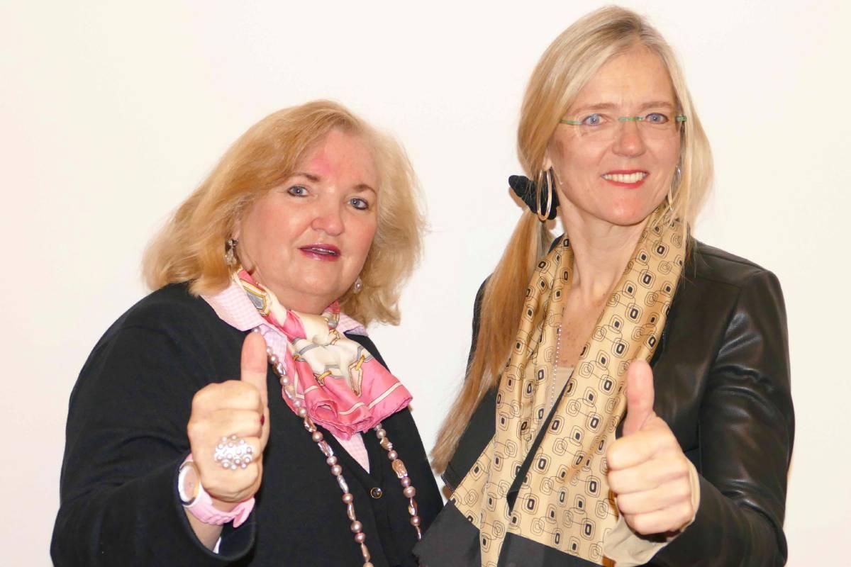 Das Petschwork Team aus Barbara Petsch und Sabine Petsch